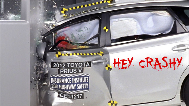 Safety Groups Blasts Toyota For 'Poor' Camry And Prius V Crash Test Performance