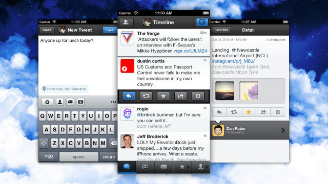 Tweetbot for iPhone for iPad Are Both on Sale for 99¢