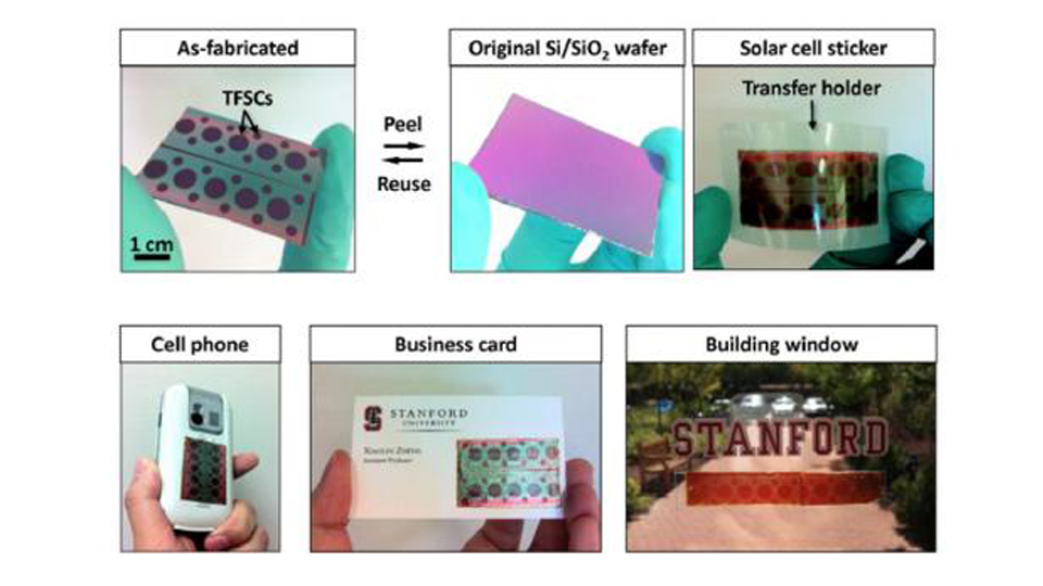 New Peel-And-Stick Solar Cells Can Power Anything