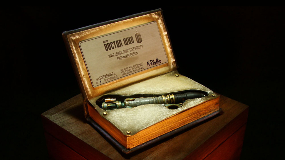 You can own a perfect replica of River Song's sonic screwdriver and diary!