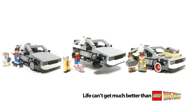 Click here to read The Lego Back to the Future Set Is Now OFFICIAL!