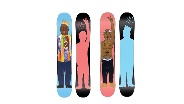 Click here to read Pay Homage to Two Hip Hop Legends With Biggie and Tupac Snowboards