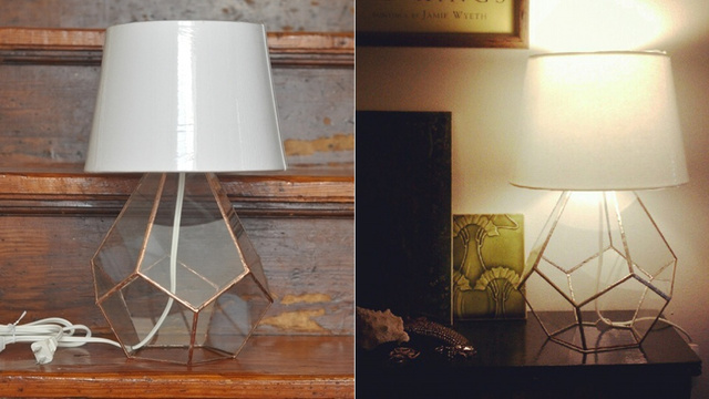 This Giant Terrarium Lamp Is a Beautiful Bedside Prism