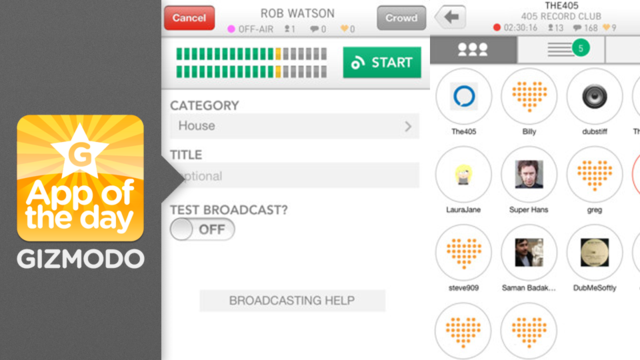 Click here to read Mixlr: Host Your Own Radio Show From Your iPhone