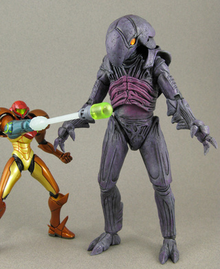 Custom Metroid Action Figures Wage Epic Desktop War