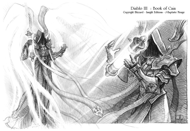 A Black & White Look At Diablo III