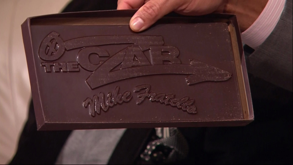 The Czar Of The Telestrator Has His Own Custom-Branded Chocolate Bars