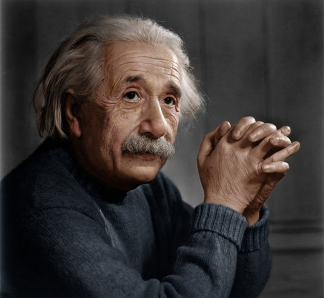 These gorgeous colorized photos bring famous historical figures to life