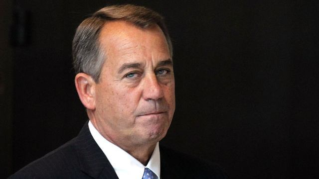 Flaccid Boehner Pulls Out of Plan B