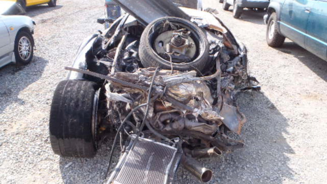 "This Completely Trashed And Mangled Lamborghini ""Needs A Good Buffing And An Oil Change"""