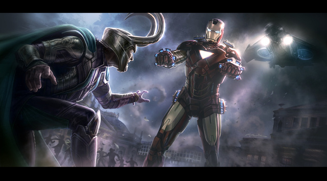 Insane collection of Avengers concept art shows Thanos in action