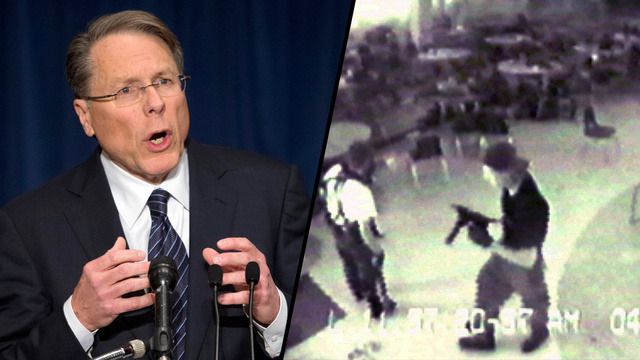 Columbine Had an Armed Security Guard on Duty and the NRA Is Dumb