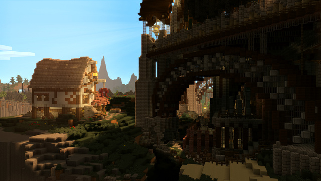 Here, Have Some Rockin' Minecraft Wallpaper, Courtesy Of A Screenshot Artist