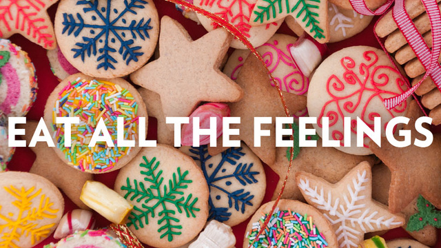 A Happy Holiday Guide to Mindless Stress-Eating