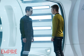 Brand new Star Trek Into Darkness photos include Cumberbatch in bondage!