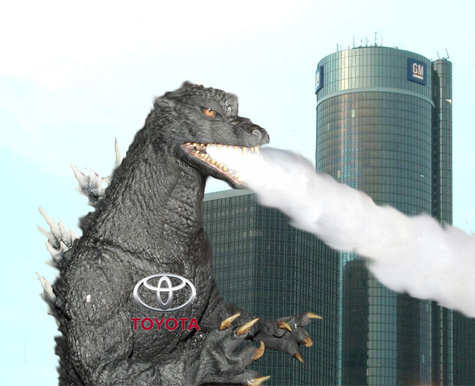 Click here to read Toyota Godzilla Smashes GM To Become World's Biggest Automaker
