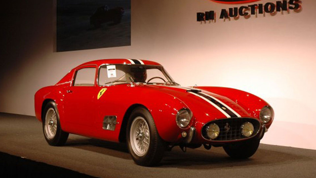 The Ten Most Expensive Cars Auctioned In 2012