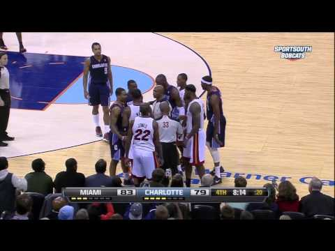Dwyane Wade Kicked Ramon Sessions In The Nuts
