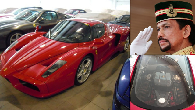 Click here to read Is The Sultan Of Brunei's Untouched Ferrari Enzo For Sale In California?