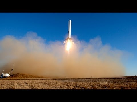 Click here to read SpaceX's Grasshopper Rocket Takes Off and Lands Vertically and Can Also Hover