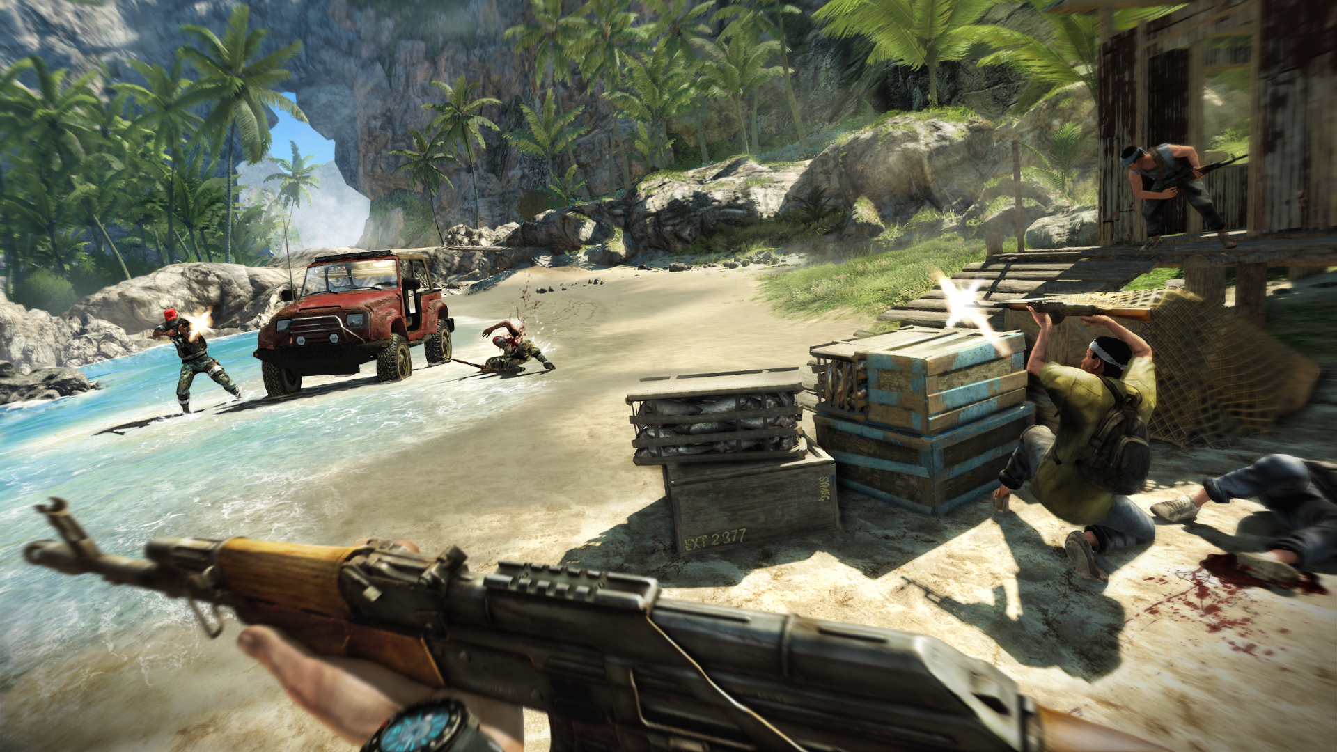 Far Cry 3 Weapons Mod Want to Make Far Cry 3 More