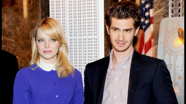 Attractive Perfect Couple Emma Stone and Andrew Garfield Adopt Shelter Dog on Christmas Eve