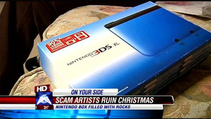 Boy Asks For 3DS For Christmas, Gets Box Full Of Rocks Instead
