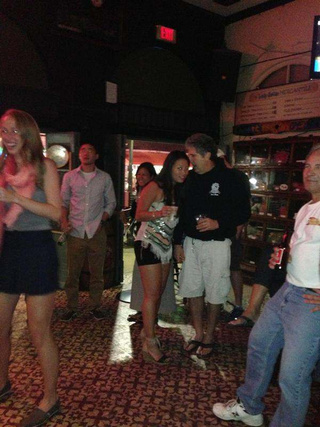 Here's A Picture Of Mike Leach Possibly Macking On A Young Lady In A Key West Bar [UPDATE]