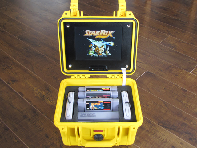 This Portable SNES Looks Like It'd Fit Right In at an Emergency Command Post