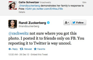 Watch Randi Zuckerberg Have a Facebook Freakout Over Her Photo Going Viral