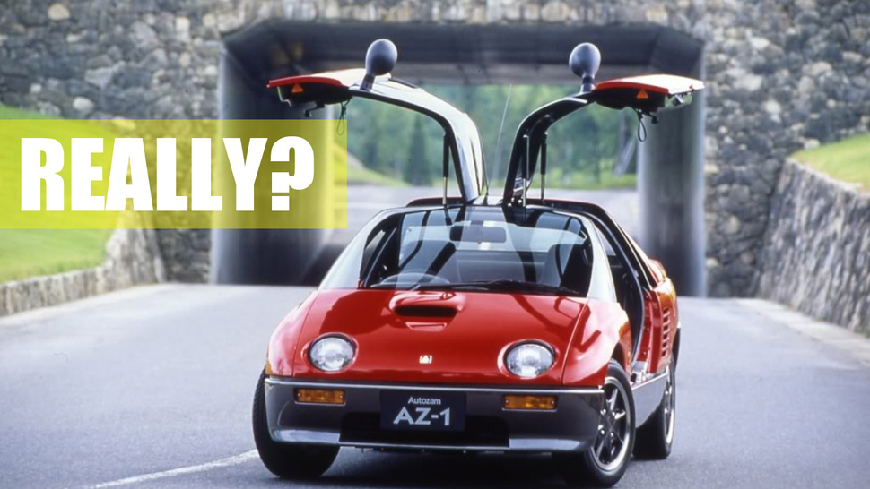 "These Are The Insane ""Bubble Cars"" From When Mazda Went Nuts 20 Years Ago"