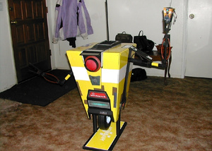 No One Knows How Big Claptrap is, Really, but Let's Call This a 1:1 Model Anyway