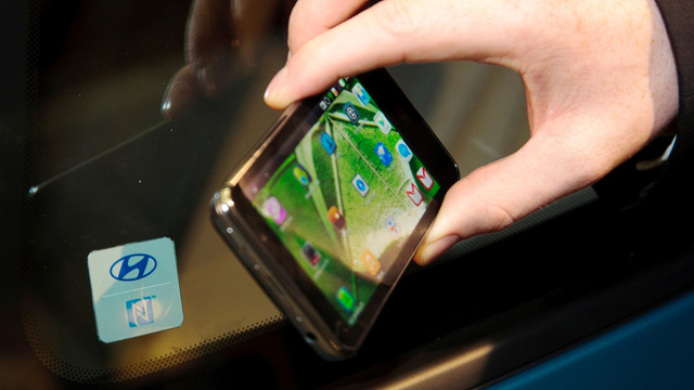 Click here to read Would You Want To Use Your NFC-Enabled Phone As Car Keys?