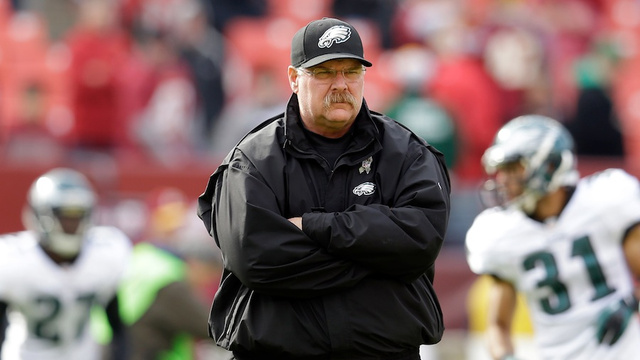 Andy Reid Was Fired Before Today's Game, Coached Anyway