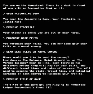 What If The Year's Biggest Games Were Clunky Old Text Adventures?