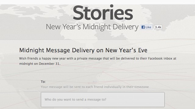Watch Out: Your New Year's Midnight Delivery Messages On Facebook Aren't Private