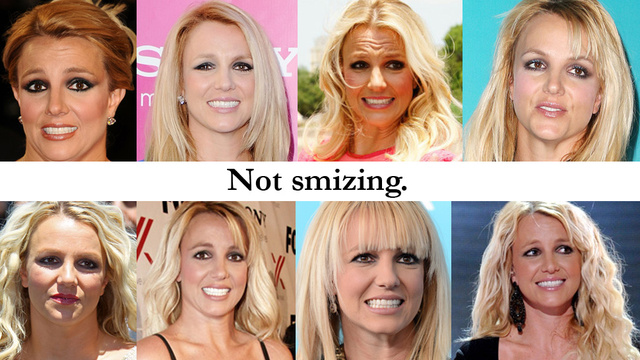Click here to read A Year of Britney Spears' Tortured Red Carpet Faces