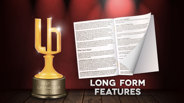 Click here to read Most Popular Long Form Features of 2012