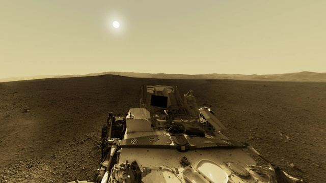 Click here to read NASA's Curiosity Rover Has a Special Message for You This New Year