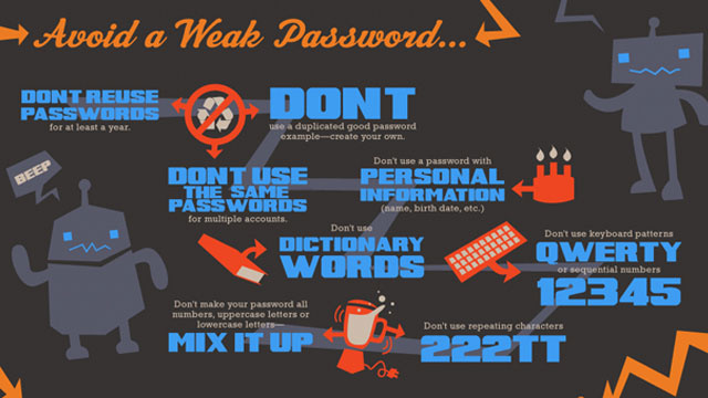 Use This Infographic to Pick a Good, Strong Password