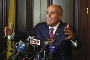 medium Rudy Giuliani is Just Like That Guy who Never Leaves Your High School
