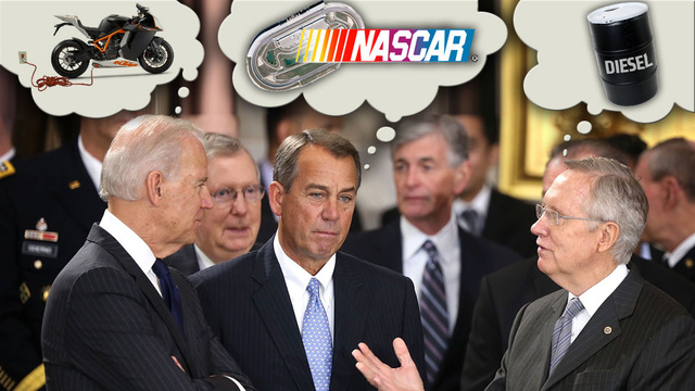$70 Million For NASCAR Tracks And Other Surprising Pork In The Fiscal Cliff Bill