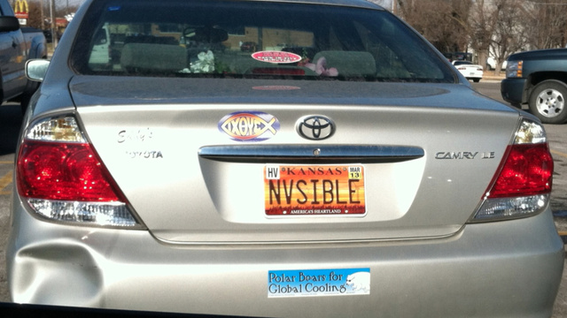 Is This The Most Appropriate License Plate For A Toyota Camry Ever?