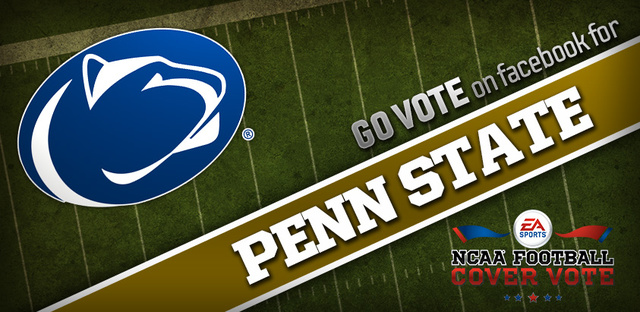 Of Course Penn State is Leading EA Sports' NCAA Football 14 Cover Vote