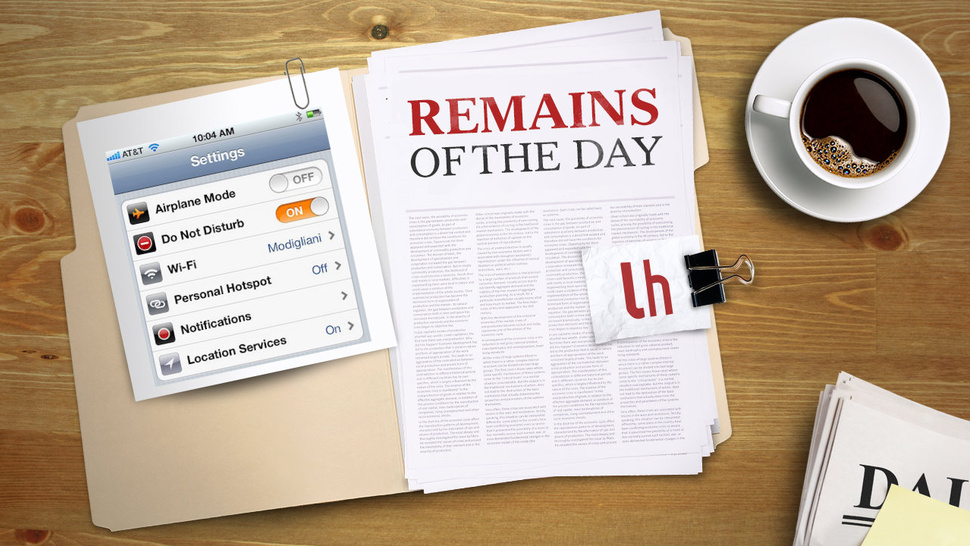 Remains of the Day: iOS 6's Do Not Disturb Feature Has a Slight Problem in 2013