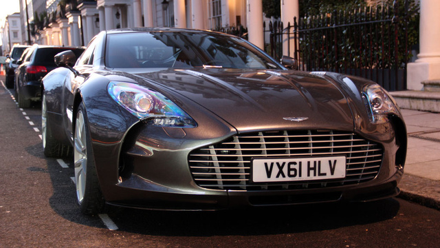 This Is The Aston Martin One-77 Hatchback Review You Were All Waiting For
