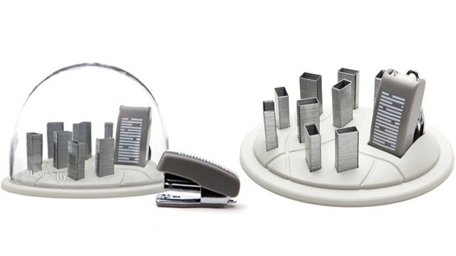 Staple City's a Towering Metropolis of Desk Organization