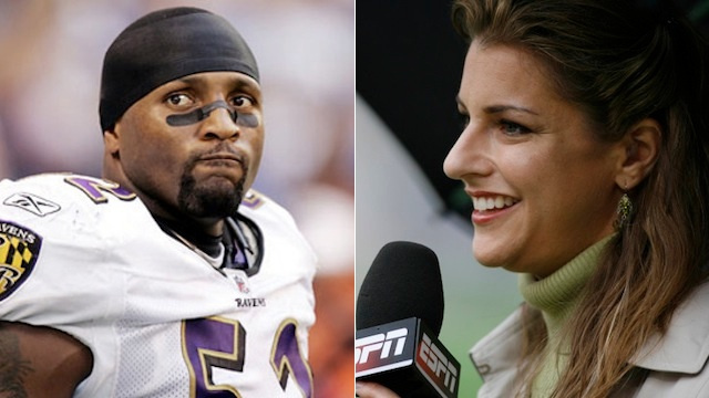 Bonnie Bernstein Explains Ray Lewis's Crimes With An Unfortunat…