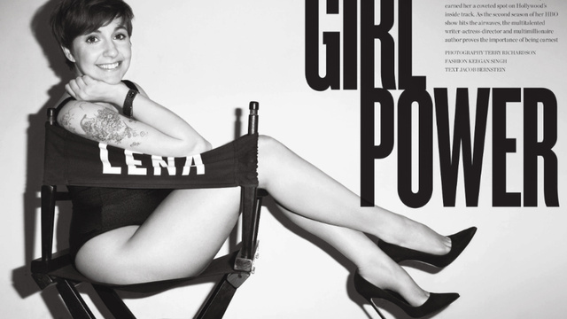 Lena Dunham Posed Pantsless For Terry Richardson