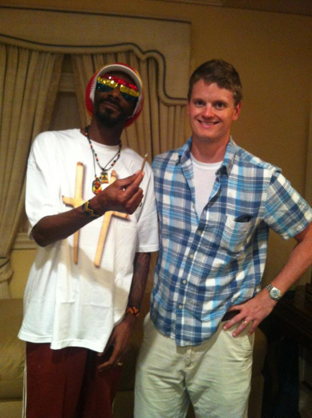 My Afternoon With Snoop Lion, President Of Weed
